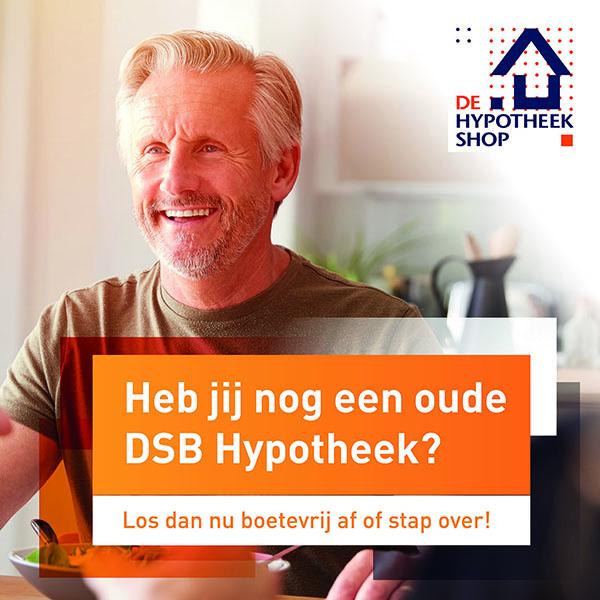DSB-hypotheek Roosendaal Roselaar