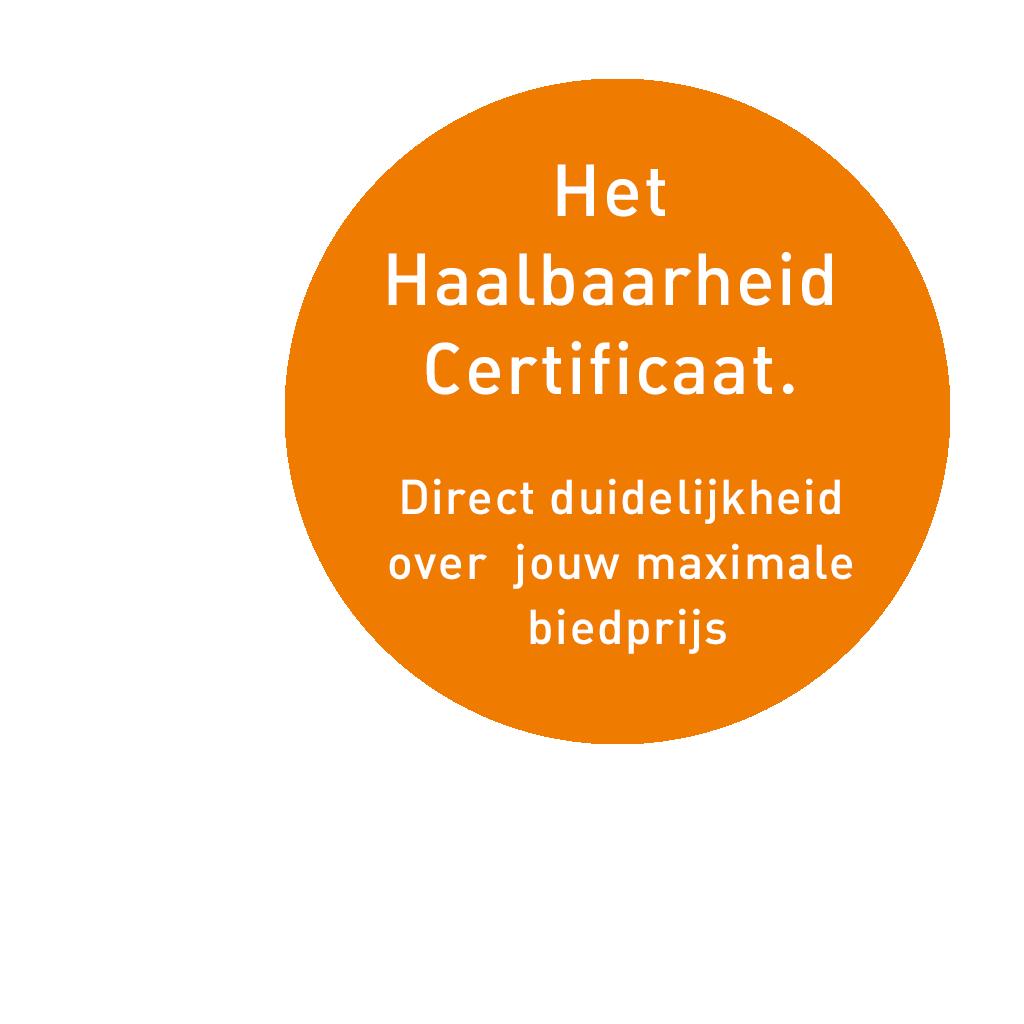 Haalbaarheidscertificaat